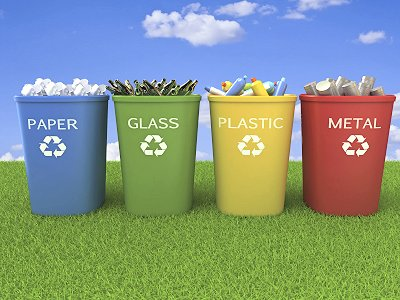 Did you recycle today? We did!